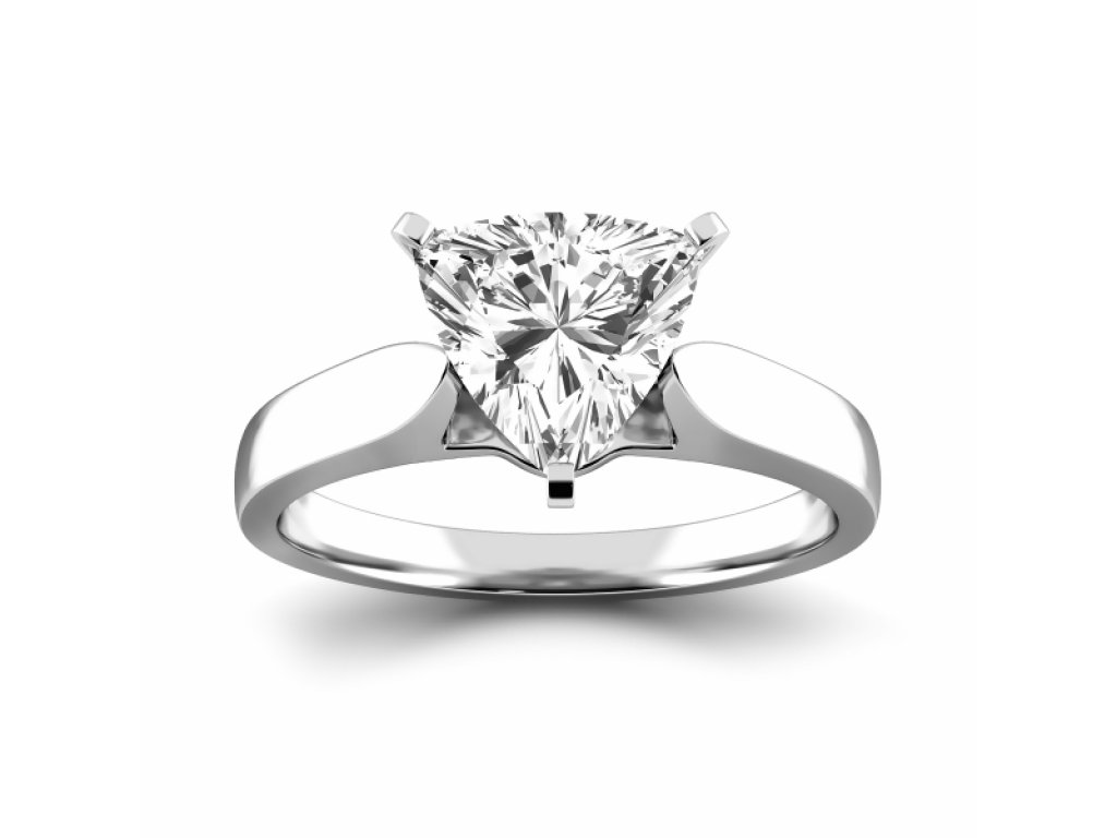 stones shape sterling side engagement solitaire with solid ring amazon zirconia cubic com cz dp silver trillion three cut stone emerald quality rings highest