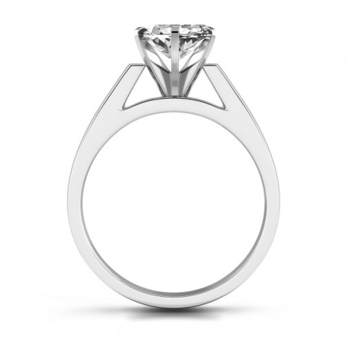 Open Cathedral Solitaire Engagement Ring Setting for Marquise Cut Diamonds