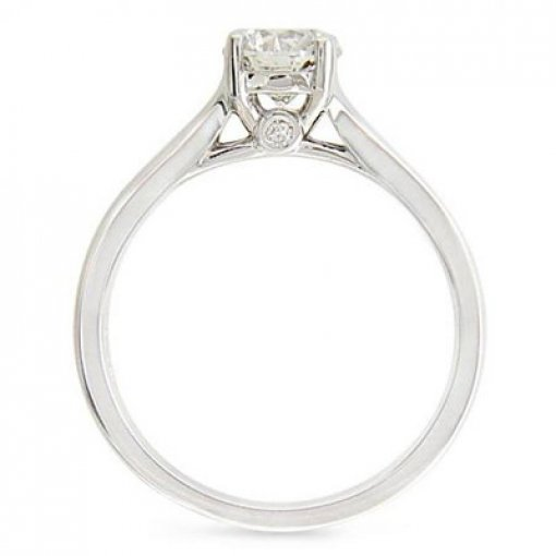 Elegant Trellis Solitaire (Princess Center)