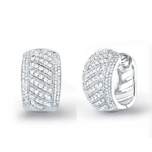 1.75 Carat  Diamond Earrings