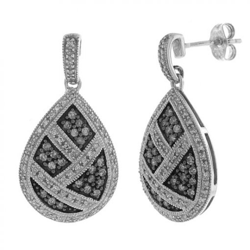 0.75 carat  Diamond Earrings