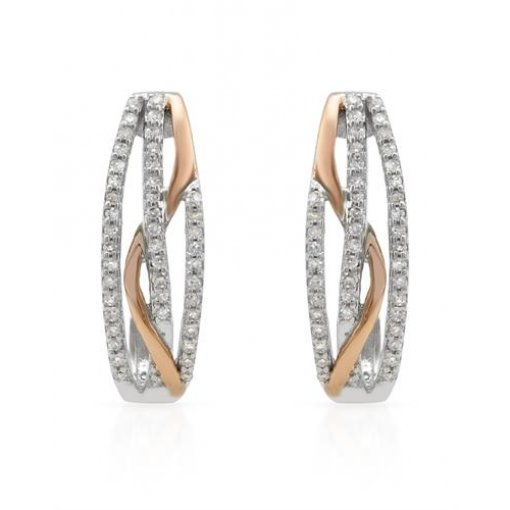 0.3CT  Round 14KWr 0.30CTW (Hi/I1 Sc) Diamond Earrings H-I/I1 ()