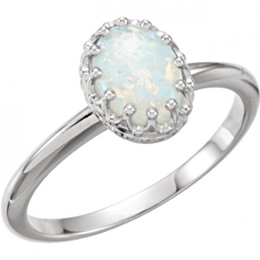 14kt Yellow Opal Ring