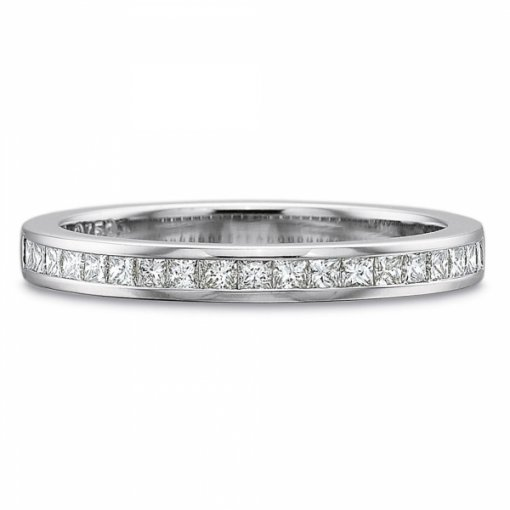 1.00ct Princess Channel Style Diamond Wedding Band