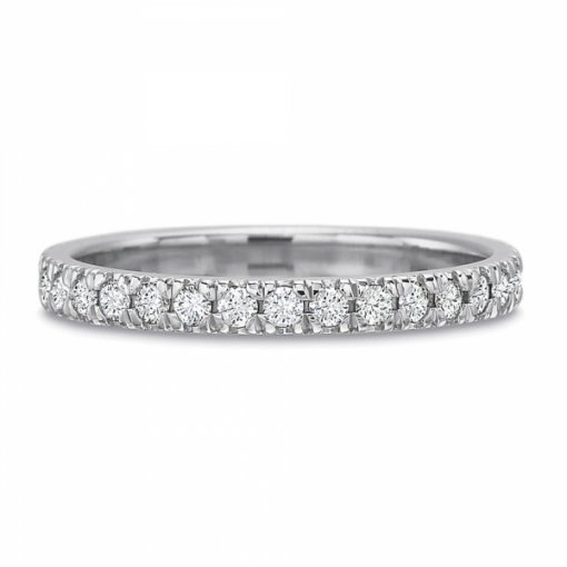 0.65ct Round Split Prong Set  Diamond Wedding Band