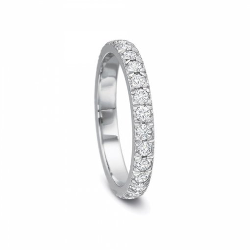 1.00ct Round Split Prong Set  Diamond Wedding Band