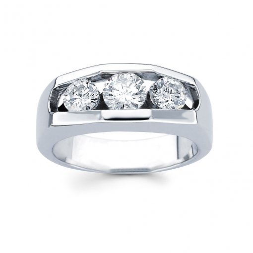 0.77ct Men's Round Diamond Band