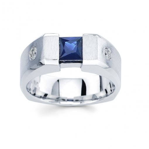 1.15ct Men's Round Diamond Band