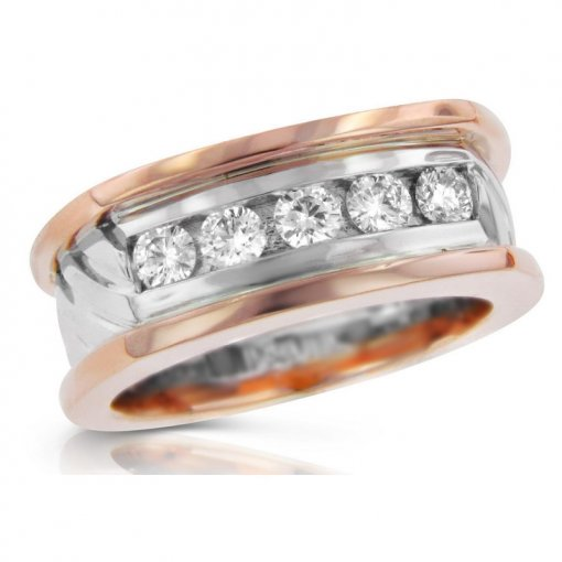 0.75ct Men's Round Diamond Band