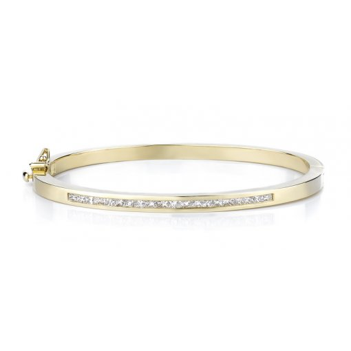 1.25ctw Women's diamond bracelet in 14k yellow gold