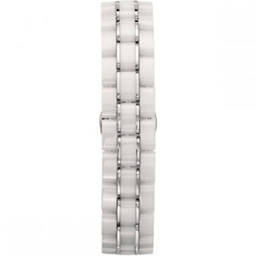 White Ceramic Couture Link Bracelet
