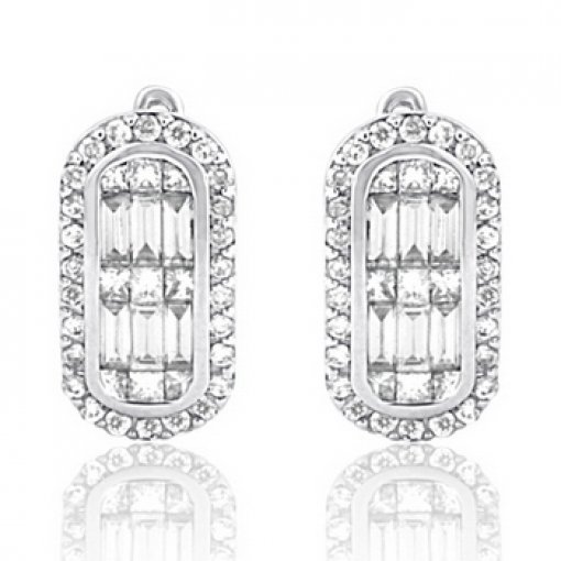 1.13CT   Earring (1.13 Vs2-I2/Hi) H-I/ ()