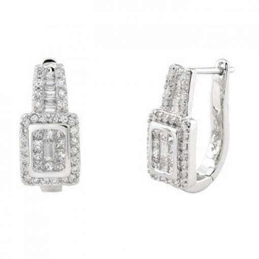 0.85CT   Earring (0.85 SI2-I1/-G-H) G-H/ ()