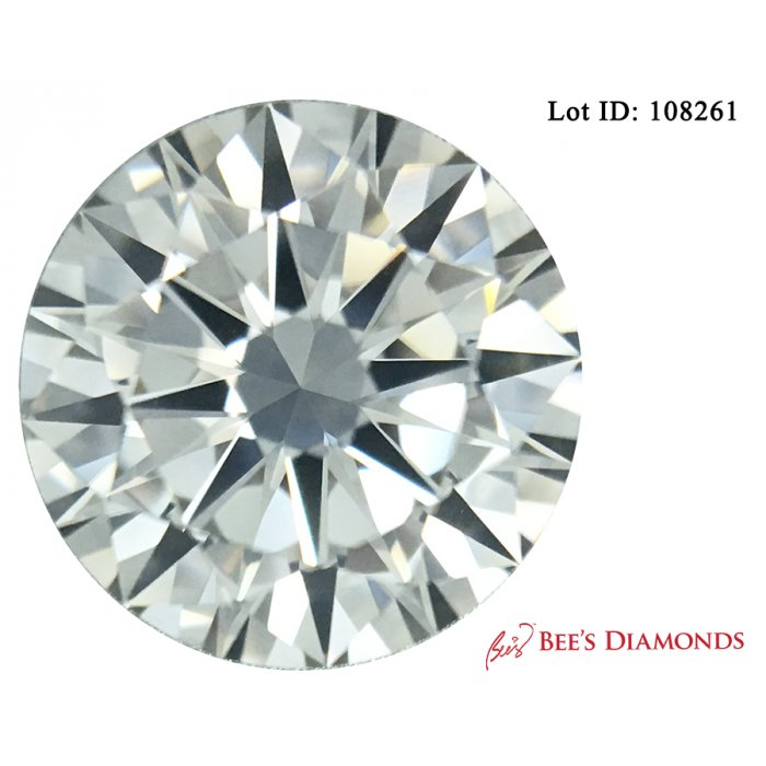 1.01 Carat Round Cut Loose Diamond GIA Certified F VS1