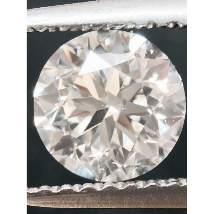 0.90 Carat Round Cut Loose Diamond GIA Certified J VS2