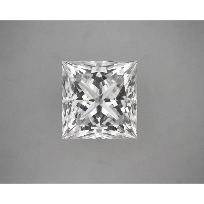 0.78 Carat Princess Cut Loose Diamond GIA Certified E VS2