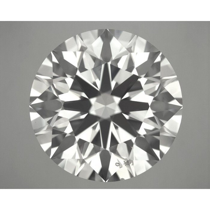 4.02 Carat Round Cut Loose Diamond GIA Certified K SI1