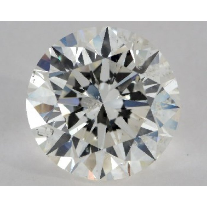 2.17 Carat Round Cut Loose Diamond GIA Certified J I1
