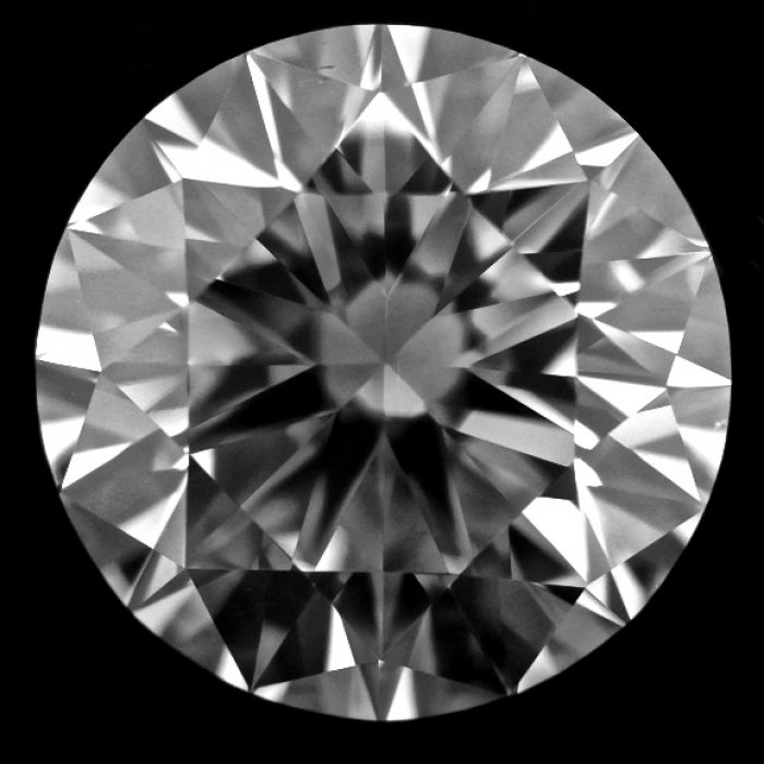 1.55 Carat Round Cut Loose Diamond GIA Certified E VS2