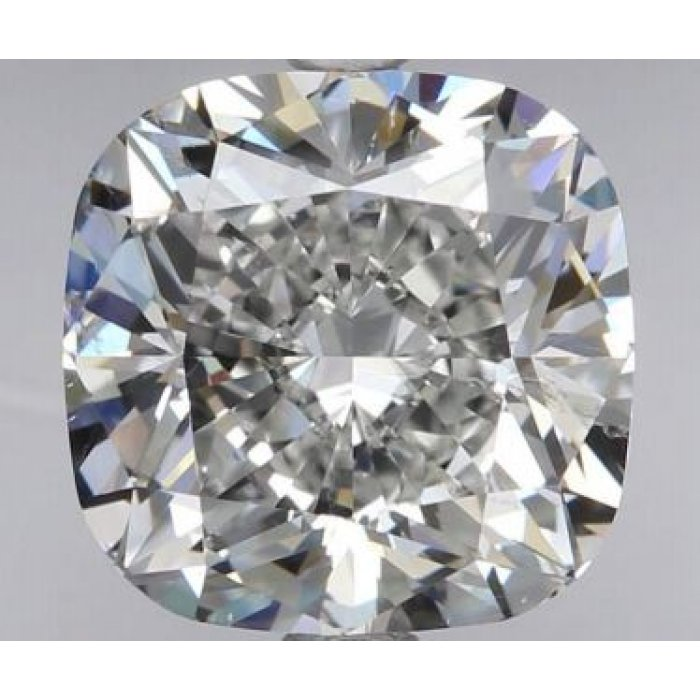 2.01 Carat Cushion Modified Cut Loose Diamond GIA Certified H SI2