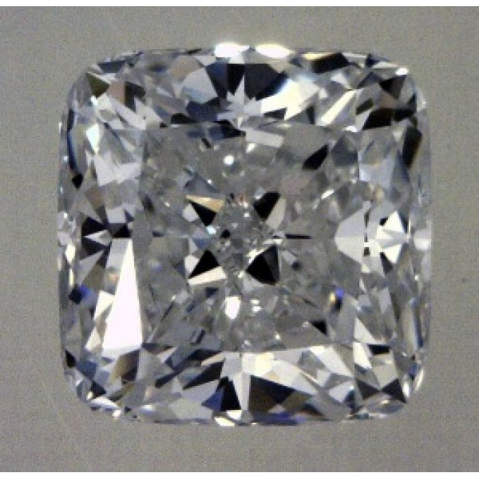 1.71 Carat Cushion Modified Cut Loose Diamond GIA Certified E VS1