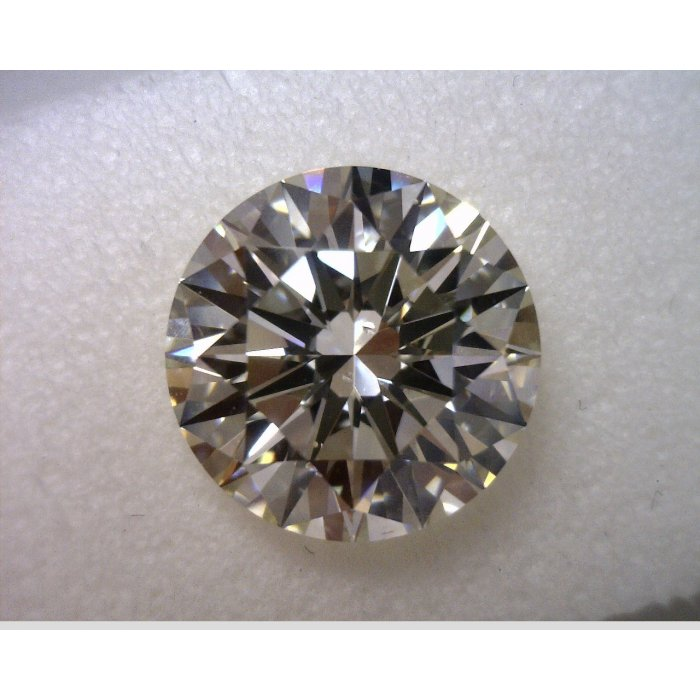 2.02 Carat Round Cut Loose Diamond HRD Certified K VS2