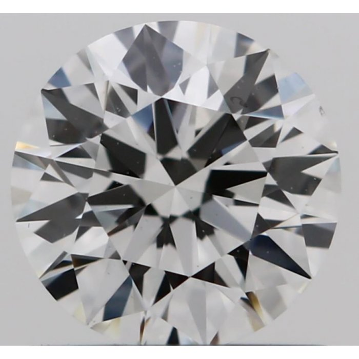 0.75 Carat Round Cut Loose Diamond GIA Certified H VS2