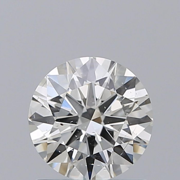 0.90 Carat Round Cut Loose Diamond GIA Certified G SI2