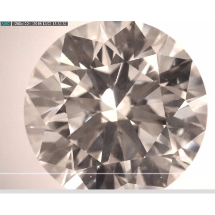2.20 Carat Round Cut Loose Diamond AGS Certified I SI1